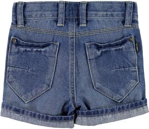 NAME IT Jungen Jeansshorts regular Ross mini light blue denim – Bild 2