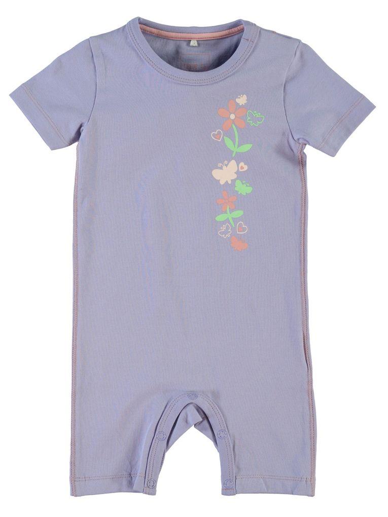 NAME IT Baby Sommer-Overall kurzer Strampler Nitib – Bild 1