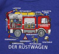 Salt and Pepper Sweater Feuerwehr Firefighter Wagen – Bild 2