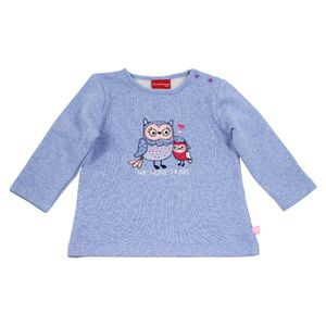 Salt and Pepper Baby Sweatshirt Eule smart owl we love – Bild 1