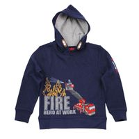 Salt and Pepper Kapuzen-Sweatshirt Firefighter Hero