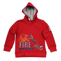 Salt and Pepper Kapuzen-Sweatshirt Firefighter Hero – Bild 2