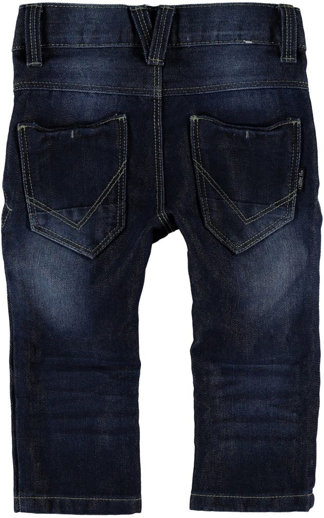 NAME IT Jungen Jeans slim Alex mini blue denim – Bild 4