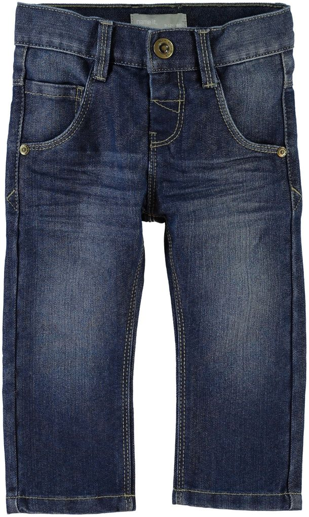 NAME IT Jungen Jeans slim Alex mini blue denim – Bild 1