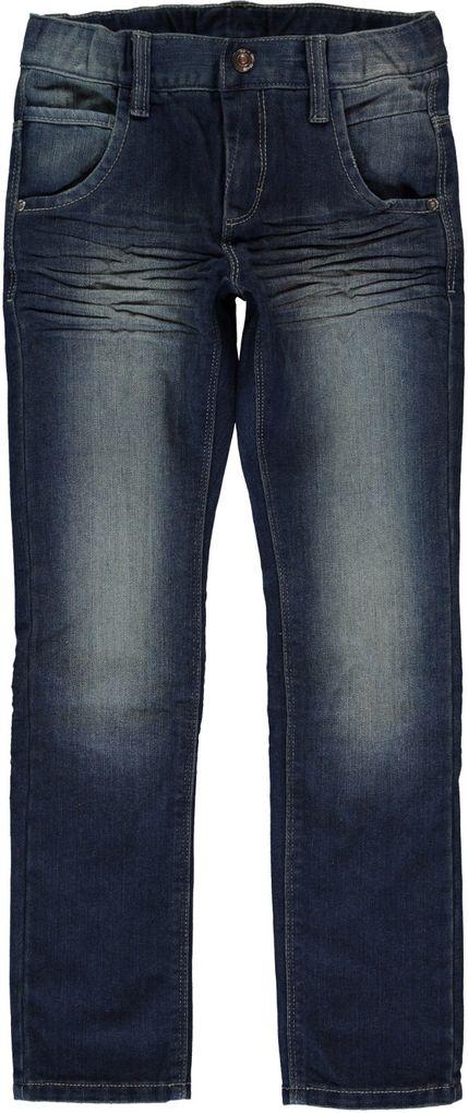 Name it kids Jungen Jeans regular Tim dark denim – Bild 1