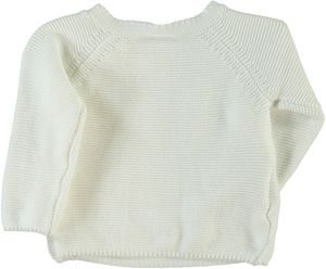 Name it Baby Strickjacke Cardigan weiß Sky – Bild 2