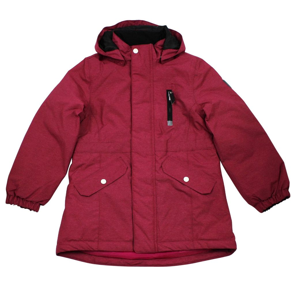 Name it Mädchen Winterjacke Funktionsjacke in sangria Medenim – Bild 1