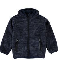 Name it Kinder Softshelljacke mit Teddyfutter Nitbeta blau
