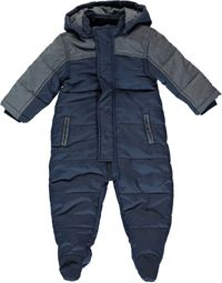 Name it Baby Schneeoverall Wagenanzug in jeansblau Marinus