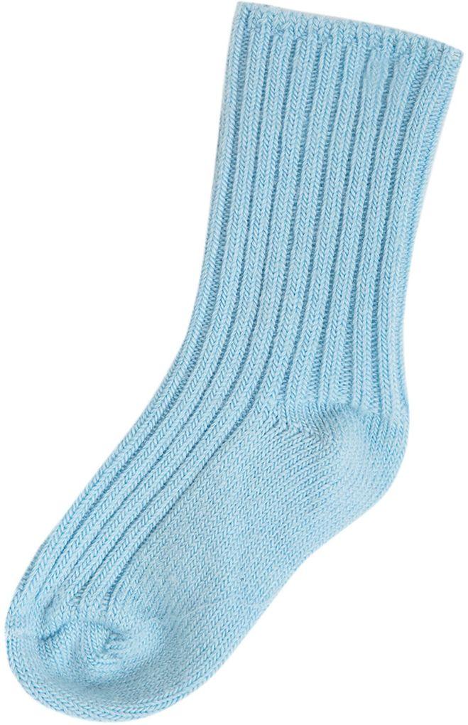 Joha Baby Woll-Socken für Kinder unifarben hellblau