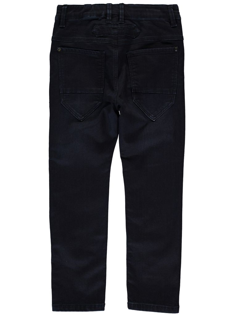 Name it Baggy Thermo-Jeans angeraut in dark blue denim Nitanders kids – Bild 2