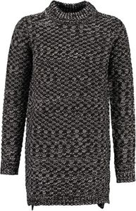 Garcia Mädchen Long-Pullover warmer Strickpullover off black