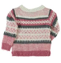Name it Mädchen Pullover mit Mohair-Effekt in heather rose Nittwenna mini – Bild 2
