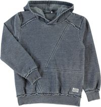 Name it Jungen Kapuzen-Sweater Hoodie blau Nitwaldo