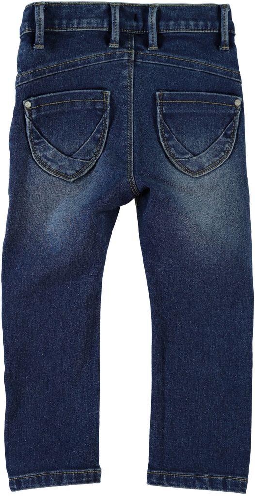 Name it Mädchen Stretch-Jeans Nitaida Mini Schnitt slim blue denim – Bild 2