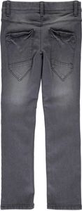 Name it Jungen Jeans slim Nitted dark grey denim – Bild 2