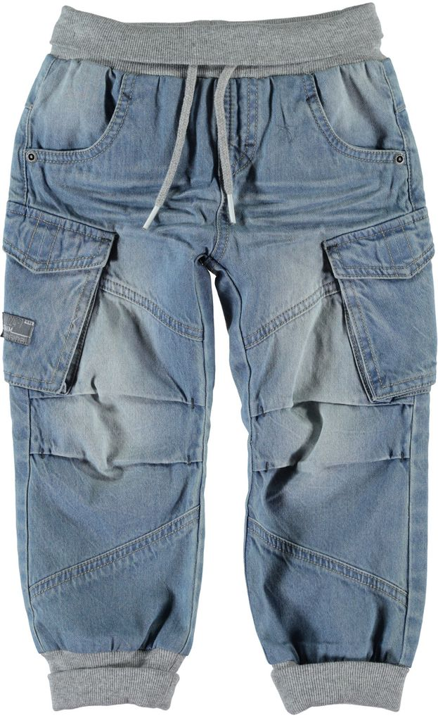 Name it Jungen Baggy Jeanshose mit Softbund Nittonas Mini