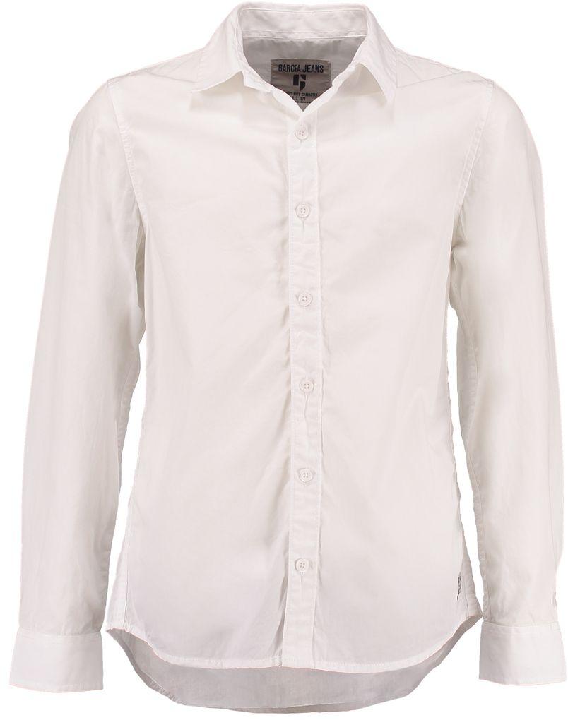 Garcia festliches Oberhemd für Jungen langarm weiß