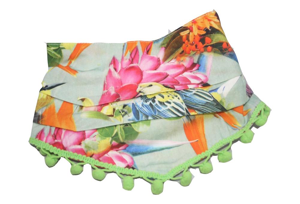 Farbgewitter Mädchen Halstuch Dreiecktuch Bommy Tropical Paradise