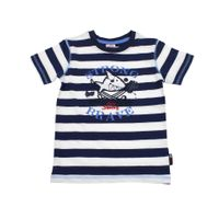 Salt and Pepper Jungen T-Shirt gestreiftv Capt`n Sharky