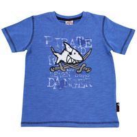Salt and Pepper Jungen T-Shirt Capt`n Sharky unifarben