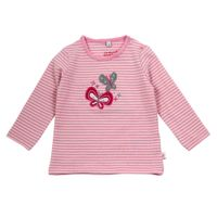 Salt and Pepper Baby Langarm-Shirt Schmetterling Sunshine gestreift