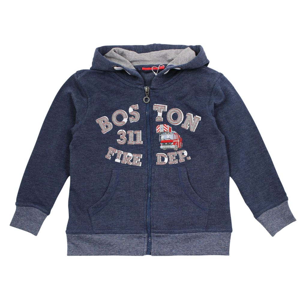 Salt & Pepper Jungen Kapuzen-Sweatjacke Firefighter – Bild 2