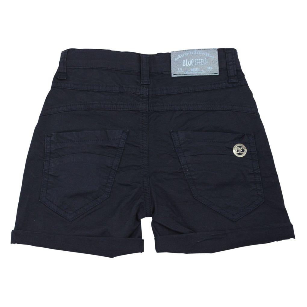 Blue Effect Mädchen Chino-Shorts kurze Hose in dunkelmarine – Bild 2