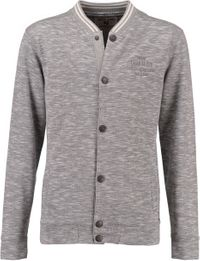 Garcia Jungen Sweatjacke Hoodie in Blousonform in grey melee