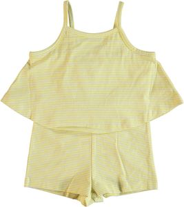 Name it Mini Mädchen kurzer Sommer-Overall aus Single Jersey Nitjump