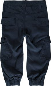 Name it Mini Jungen Chino-Hose Workerstyle in dunkelblau Nitblak – Bild 2