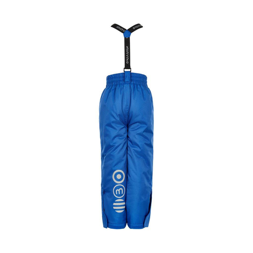 Minymo Kinder Ski-Hose Schneehose blau Wassersäule 8000 mm – Bild 4