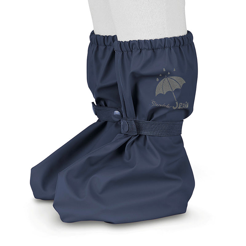 Minymo Baby Footies warme Stiefel wasserfest 8000 mm in dunkelblau