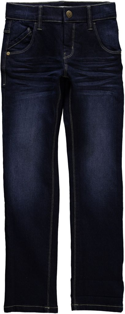 Name it Jungen Jeans Hose Nitalex Kids Schnitt slim blue denim – Bild 1