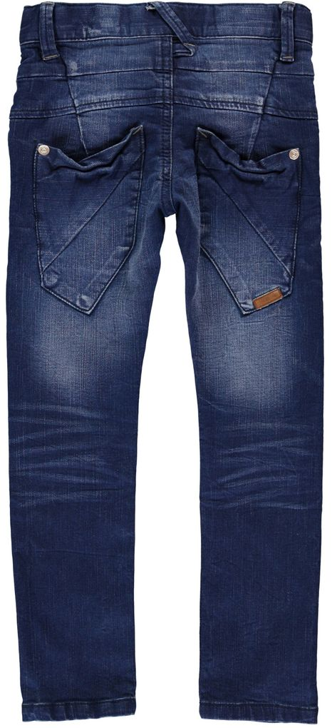 Name it Jungen Jeans slim Nittoss blue denim – Bild 2