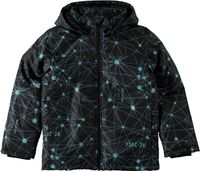 Name it Jungen Winterjacke Atom black gemustert Nitmellon
