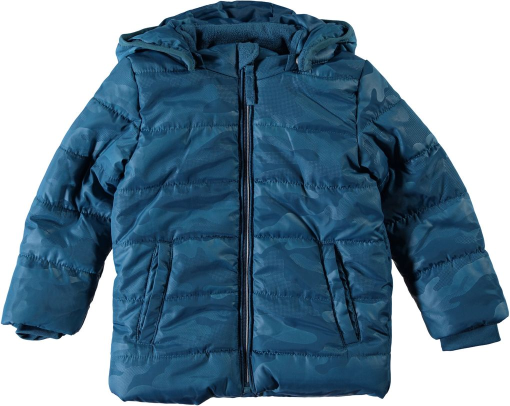Name it mini Jungen Winterjacke Nitmit lyons blue Camouflage