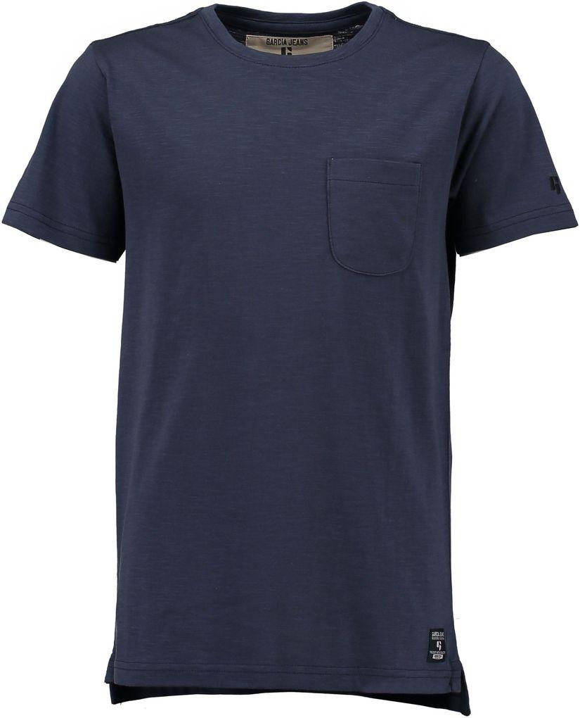 Garcia Basic T-Shirt für Jungen Unterziehshirt unifarben – Bild 5