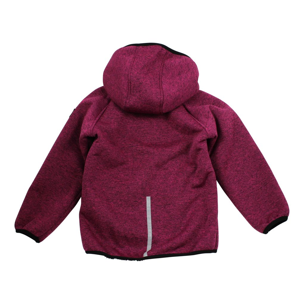 Name it Kinder Softshelljacke mit Teddyfutter Nitbeta fuchsia – Bild 2