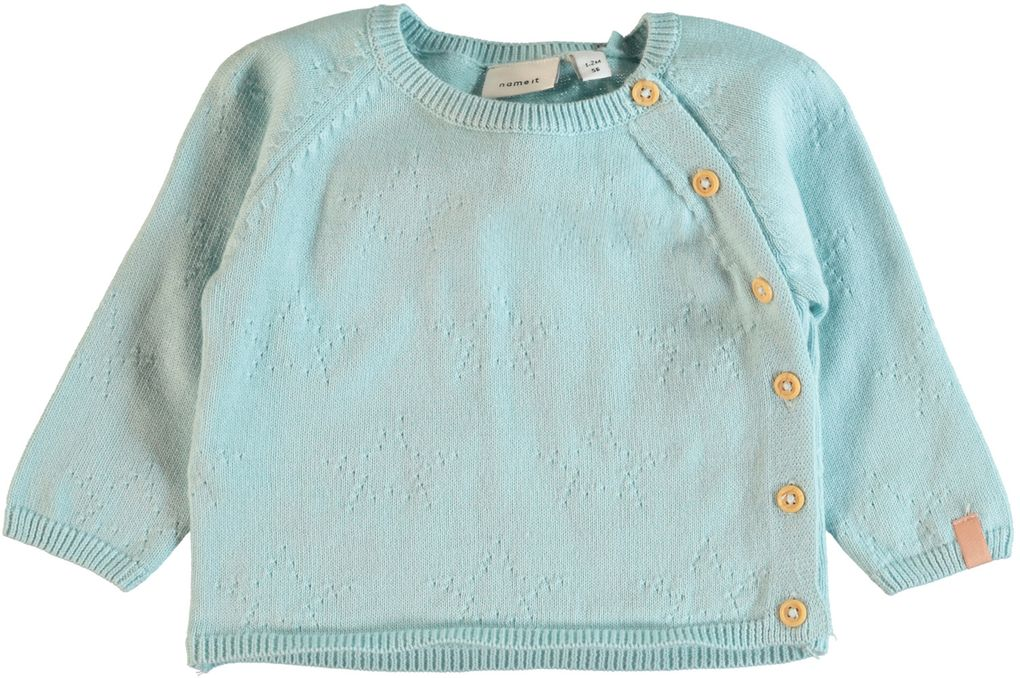 Name it Baby Jungen Strickjacke Cardigan Nitgesky