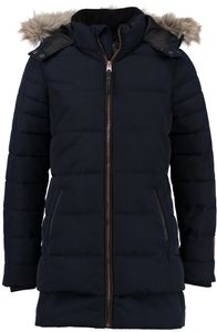 Garcia Mädchen Wintermantel Parka Winterjacke dark moon