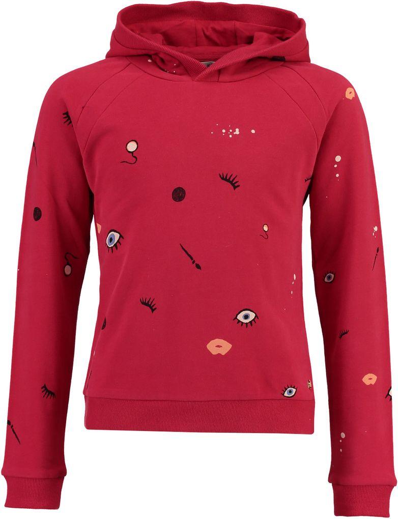 Garcia Mädchen Kapuzen-Hoodie Sweatshirt in chili pepper