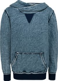 Blue Effect Jungen Kapuzen-Sweatshirt im Denim-Look blau