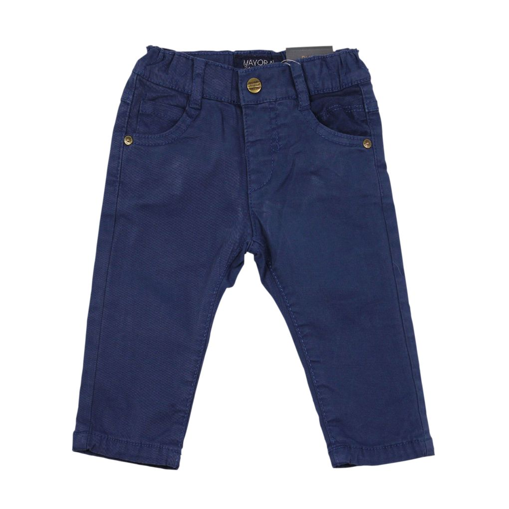 Mayoral Baby Thermo Chino Hose gefüttert in blau