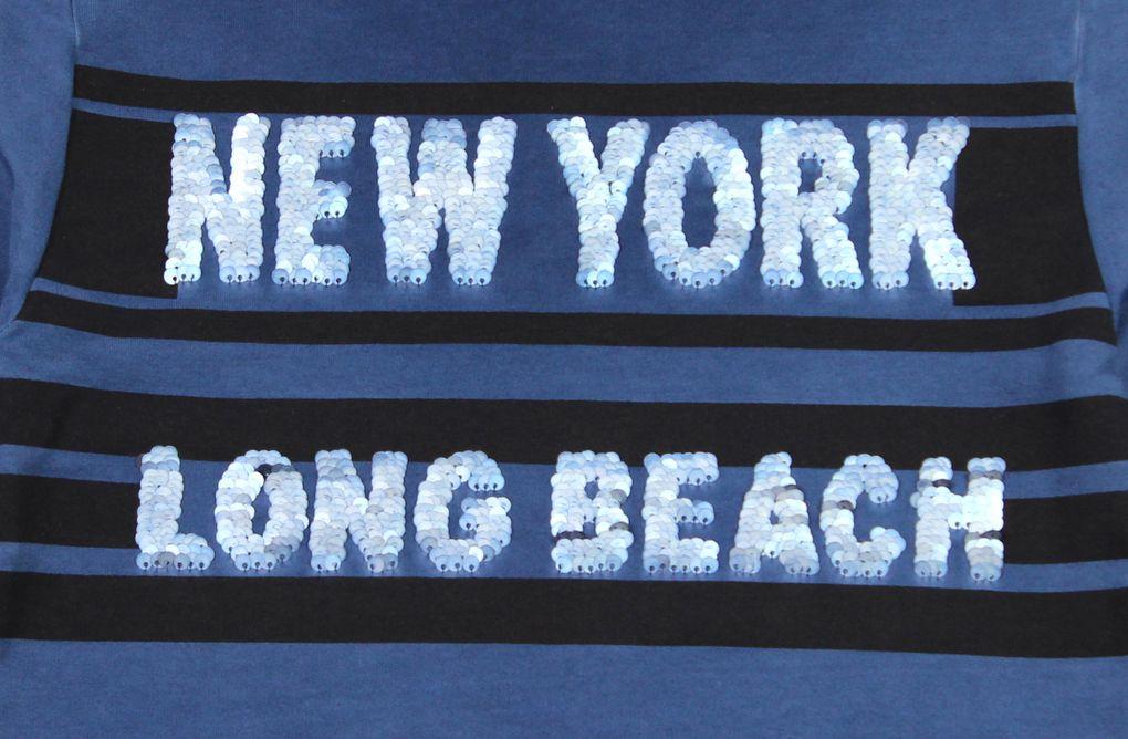 Blue Effect Jungen Sweatshirt mit Wendepailletten cool dyed – Bild 4