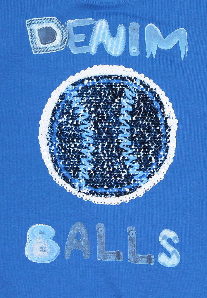 Blue Effect Jungen Sweatshirt mit Wendepailletten Fußball – Bild 4