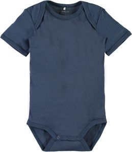 Name it Baby Kurzarmbody Traktor 3er Set ensign blue – Bild 4
