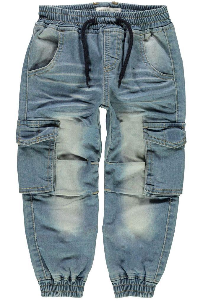Name it Jungen Baggy Jeanshose mit Schlupfbund Nmmromeo Mini