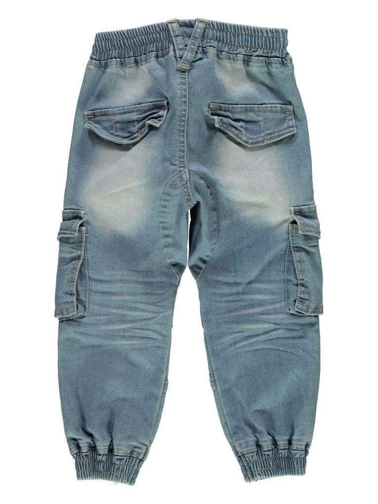 Name it Jungen Baggy Jeanshose mit Schlupfbund Nmmromeo Mini – Bild 2