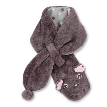 Sterntaler Baby Fleeceschal Fledermaus in aubergine 001